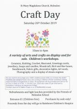 Craft Day in the Church, Saturday 10am - 4pm