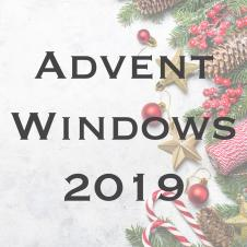 Advent Windows Open 1 by 1...