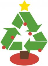 Bin collections and Christmas trees